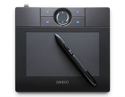 Handwriting Recognition- Wacom Bamboo Create Tablet