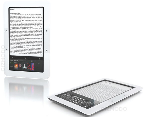 Nook Reader Vs Kindle Reader: The Weekly Round-Up: Barnes & Noble's Nook Vs. Amazon's